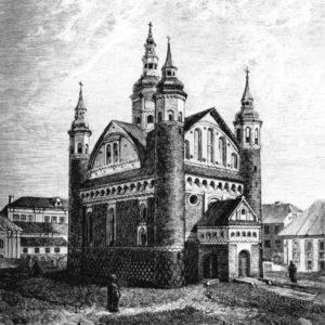 monaster prawosławny, rycina, Supraśl